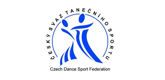 Logo českého svazu tanečních sportů